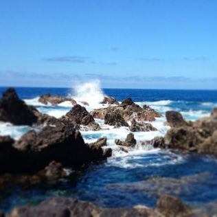The natural pool of Porto Moniz