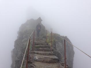Cloudy Pico Ruivo