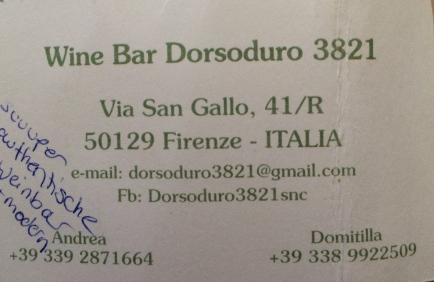 Authentic wine bar