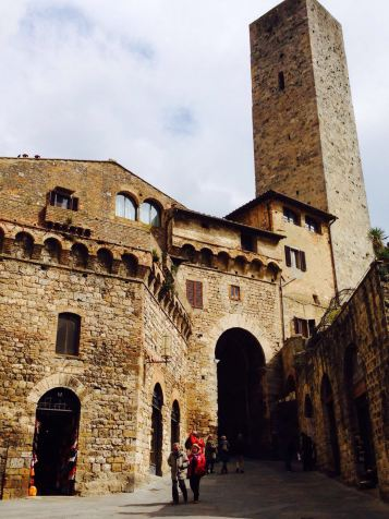 Medieval buildings
