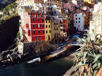 Cinque Terre - just colourful