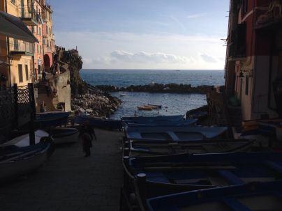 4 of 5 villages have a little harbour
