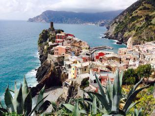 beautiful view on Venazza