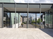 The entrance of the museum ´Folkwang´