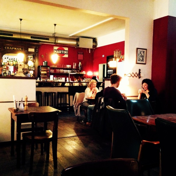 The ´Zweibar´ - One of many cozy cafés in Essen
