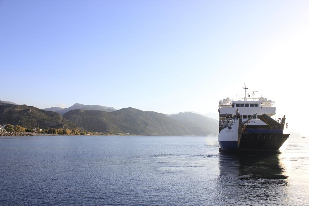 Ferry to Loutro