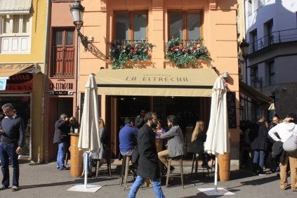 Our favourite tapas bar (at placa de lope de vega)