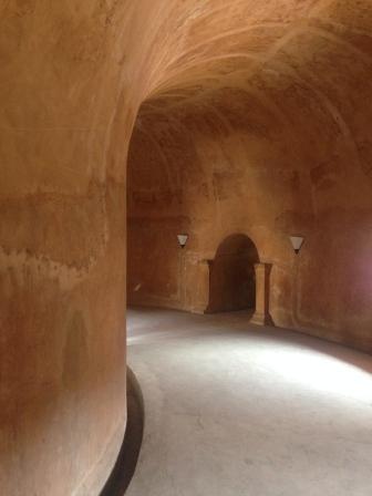 Underground mosque