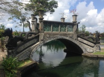 Bridge at Tirta Gangga