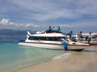 Boat from Amed to Gili Trawangan