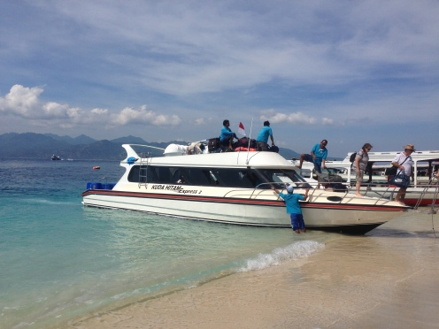 Boat from Amed to Gili Trawangan
