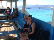 Boat to Gili Meno