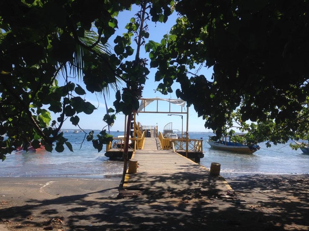 Teluk Nara harbour near Senggigi