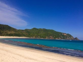 lonely beach near Kuta (Lombok)