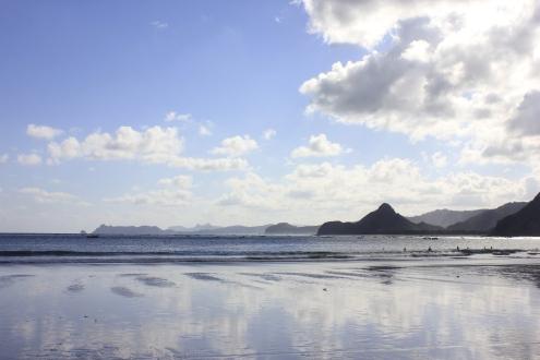 A lonely beach around Kuta (Lombok)