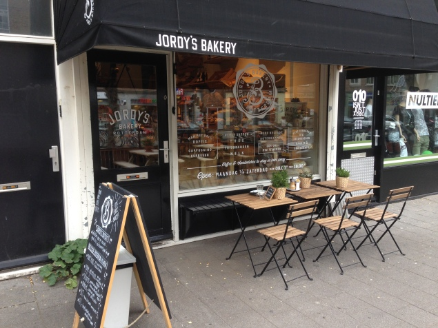 'Jordy´s Bakery' - the outside