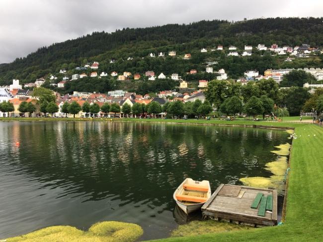 lake across the KODE