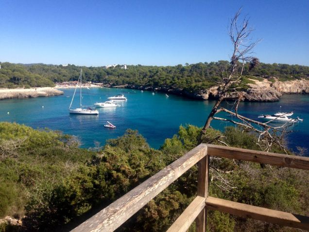 View of Cala Mondragó