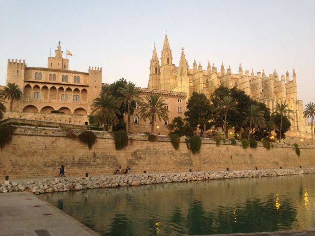 The cathedral of Palma